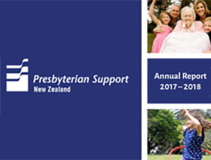 Presbytarian Support NZ Annual Report 2017/18